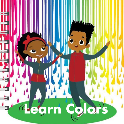 Learn Colors – Children's Board Book based on the Maker Family Series for Kids Ages 1 – 6
