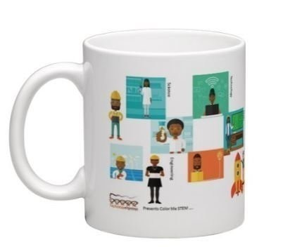 Blacks in STEM – Coffee Mug – Science Technology Engineering Math