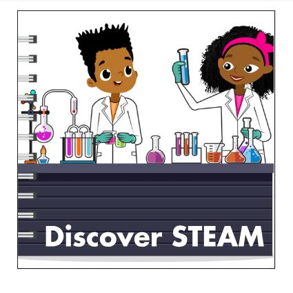 A Discover STEAM – Baby Board Book based on the Maker Family Series for Kids Ages 1 – 6